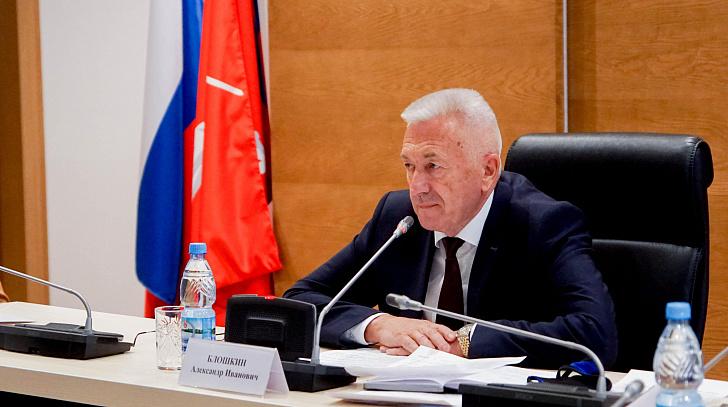Александр Блошкин призвал  соблюдать меры профилактики по COVID-19