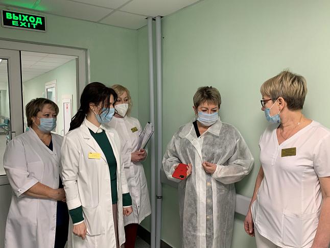 Продолжается масштабное обновление областной больницы №1